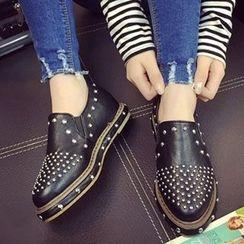 BAYO - Studded Slip Ons