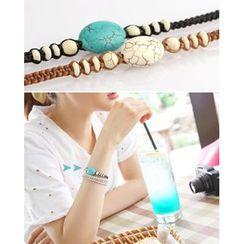 Miss21 Korea - Turquoise Bracelet