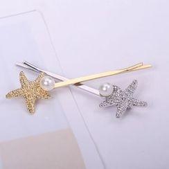 CHOIX - 珠飾星星髮簪