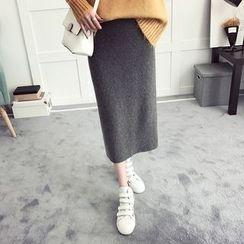 efolin - Knit Midi Skirt