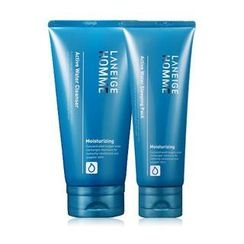 Laneige - Homme Active Water Set : Cleanser 150ml + Sleeping Pack 100ml