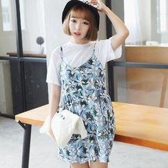 Ando Store - Printed Jumper Skirt