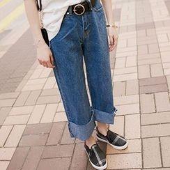Ashlee - Wide Leg Jeans