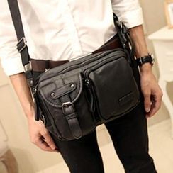 BagBuzz - Buckled Crossbody Bag