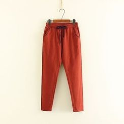 Mushi - Drawstring Pants