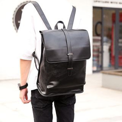 ETONWEAG - Flap  Faux Leather Backpack