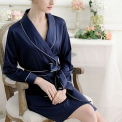 Charming Lover - Tie-Waist Robe