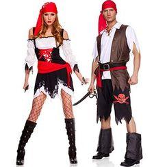 Cosgirl - 情侶海盜角色扮演服套裝