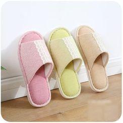Momoi - Stripe Home Slippers