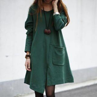 JVL - Asymmetric Hem A-Line Dress