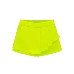 LIVA GIRL - Frilled Mock Two Piece Shorts