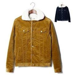 Chuoku - Fleece-Lined Corduroy Jacket