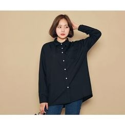 HOTPING - Pocket-Front Shirt