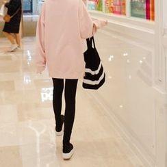 mimi&didi - Fleece-Lined Plain Leggings