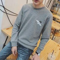 子俊 - 鶴刺繡衛衣