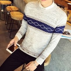 Alvicio - Patterned Sweater