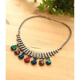 Petit et Belle - Jewel Chunky Necklace