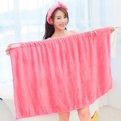 Yulu - 蝴蝶結裹式浴巾