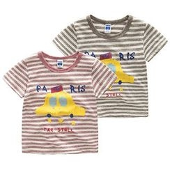 Kido - Kids Car Print Short-Sleeve T-Shirt