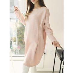 BBAEBBAE - Drop-Shoulder Knit Dress