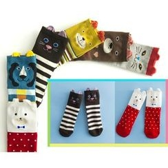 LA SHOP - Set of 6: Animal Socks