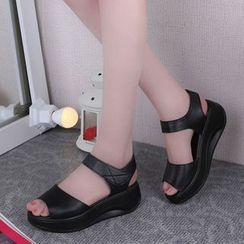 Uranus - Platform Sandals