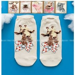 LA SHOP - Set of 2: Print Socks