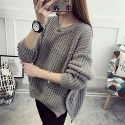 Pecora - Plain Thick Sweater