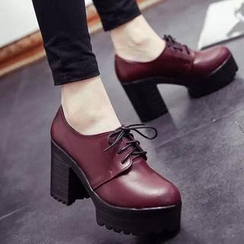 Wello - Heel Lace-up Shoes