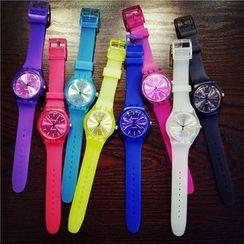 Bingle - 纯色带式手表
