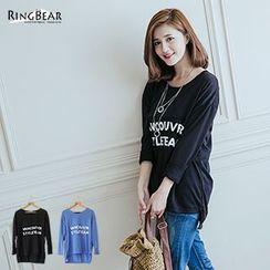 RingBear - Long Sleeve Printed Tee