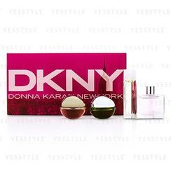 DKNY - House Of DKNY Miniature Coffret: City, Be Delicious, Energizing, Golden Delicious