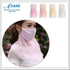Acare - Lace Trim Face Mask