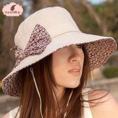 Thantrue - Bow Accent Hat