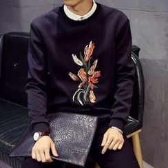 Hawoo - Embroidered Pullover