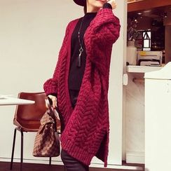 Fashion Street - Cable Knit Cardigan