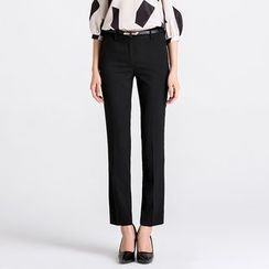Eleganza - Straight-Leg Dress Pants