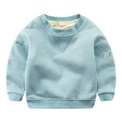 DEARIE - Kids Letter Embroidered Pullover