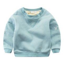 DEARIE - 儿童字母刺绣套衫