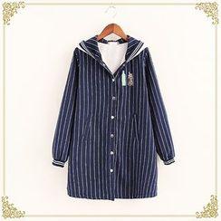 Fairyland - Striped Long Jacket