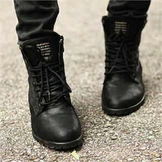 ABOKI - Lace-Up Ankle Boots