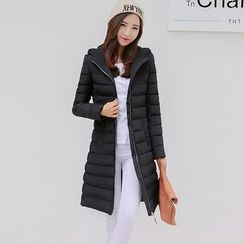 Jolly Club - Hooded Padded Zip Coat