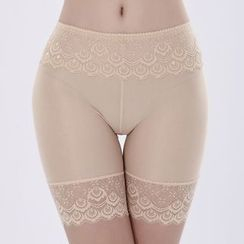 Dayuni - Lace Shaping Boyshorts