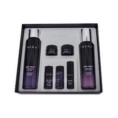 HERA - Age Away Revitalizing Set: Water 150ml + 15ml + Emulsion 120 + 15ml + Modifier 5ml + Cream 5ml + Night Mask 10ml