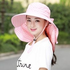 Kalamate - Sun Hat With Mask / Set: Sun Hat With Mask + Sleeves