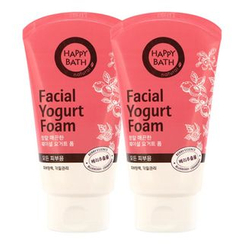 HAPPY BATH - Set of 2: Facial Yogurt Foam 120ml