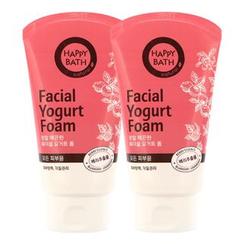 HAPPY BATH - Set of 2: Facial Yogurt Foam 120ml