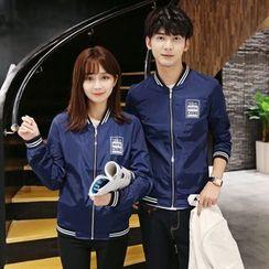 Breeson - Couple Matching Zip Jacket