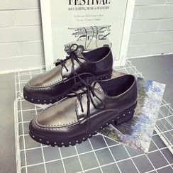 Wello - Studded Oxfords