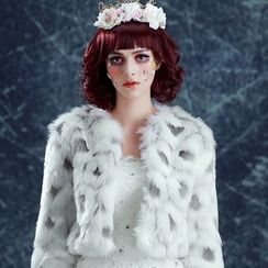 Angel Bridal - Faux-Fur Jacket